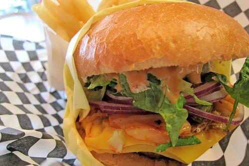 Kalbi Burger: Seoul Burger
