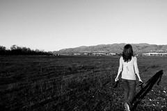 (Stan Olszewski) Tags: sunset sun green field grass canon model flash 7d alessandra strobist 1635ii 430exii olszewskiphotography