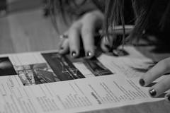 Pub quiz night (Sina Farhat) Tags: winter friends light food snow cold water beer pen canon paper göteborg vinter raw drink sweden bokeh background details trix gothenburg shapes lisa oldschool mat photowalk knowledge sverige former samuel pubquiz snö vatten manualfocus vänner penna öl 031 wideopen ljus detaljer papper högskola 50d kallt bakgrund skärpedjup noautofocus liveview kunskap lightroom3 niksilverefexpro fotopromenad m42toeosadapter manuellfokus helöppen ingenautofocus m42tilleosadapter pentacon50mm18mcauto chalmerstekniskahögskola