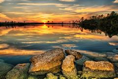 Pine Glades Lake (dkeros) Tags: sunset miami everglades southflorida 305 pinegladeslake