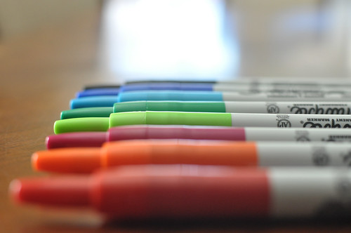 must have in my house: Sharpies!