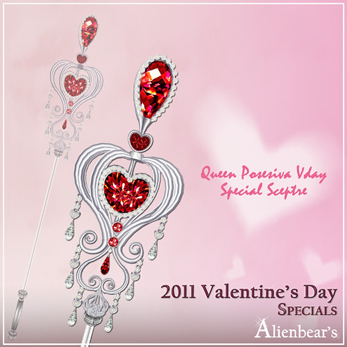 Queen Posesiva Vday special sceptre