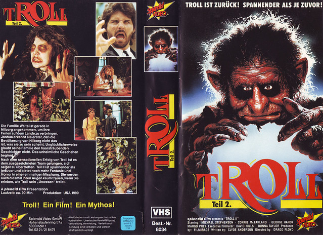Troll (VHS Box Art)