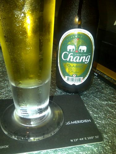 Chang Classic & Sushi @ Utage in Bangkok