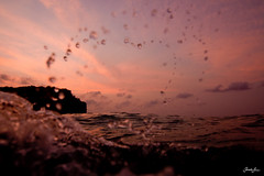 espy (SARA LEE) Tags: pink sunset sky bali abstract clouds indonesia warm soft paradise purple heart dusk simple magical indo waterhousing sarahlee balangan legothenego kobetich surfhousing vivantvie