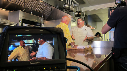 Andrew Zimmern at Graham Elliot, Chicago