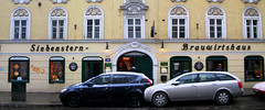 Siebensternbrau (Shkapova) Tags: vienna wien meals beergarten еда siebensterngasse вена