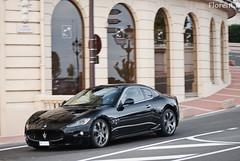 Maserati Granturismo S (Lambo8) Tags: sea horse sun black france car photo hp italian nikon italia power d south 911 8 s ferrari monaco mc porsche 200 28 af gt nikkor 80 lamborghini nero 440 f28 supercar v8 maserati ch sud 80200mm granturismo 80200 noire 80mm 200mm afd d80 hypercar worldcars mongasque 440bhp 440hp 440ch