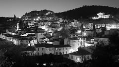 Bormes-les-Mimosas, France. (Richard D Porter) Tags: canon tokina1116f28 landscape tripod france blackandwhite blackwhite lights town longexposure