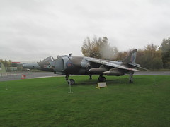 Yorkshir Air Museum, England (rylojr1977) Tags: museum war aircraft weapons history york england unitedkingdom yorshire harrier jumpjet vtol