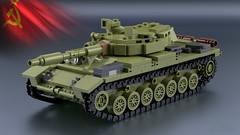 Article 64992 [1] (2che_4life) Tags: ldd lego blender mecabricks moc tank soviet wot