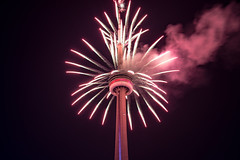 CN Tower Fireworks (vince.ng86) Tags: cntower cn tower canada day fireworks canadaday cntowerfireworks night celebration