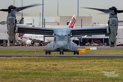 US Marines V-22 Osprey 07 YSSY-8385 (A u s s i e P o m m) Tags: v22 osprey v22osprey usmarines sydneyairport syd yssy mascot newsouthwales australia au