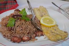 タコご飯とタコ天 (lulun & kame) Tags: europe ヨーロッパ ポルトガル料理 portugal ポルト ポルトガル portuguesefood porto europeanfood ヨーロッパの料理 lumixg20f17