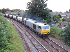 60066 DRAX on Lostock Works - Tunstead at Skelton late last night 02/07/2017 (37686) Tags: 60066 drax lostock works tunstead sketon late last night 02072017 we were hoping it would run early been sunday only day get light but wasnt be apparently today this is now crewe drivers loco will lay over electric depot rather than peak forest during