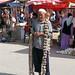 Uyghur man with garlic