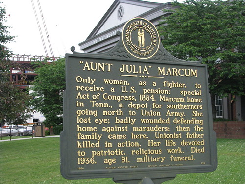 Aunt Julia Marcum