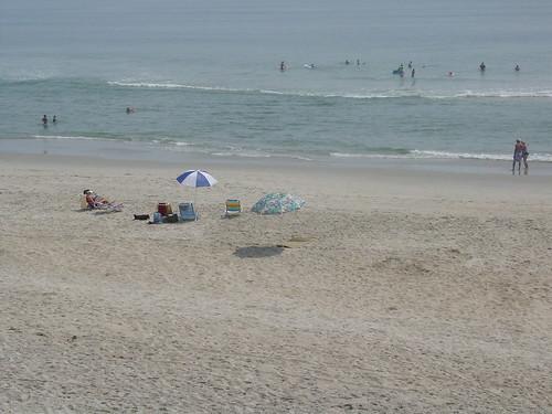 The Beach at 10am