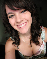 1/365 (flaregrl2001) Tags: selfportrait girl naturallight brunette curlyhair 1365 365days