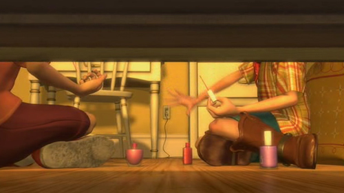 Nail Polish in Toy Story 2