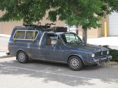 VW rabbit pickup camper