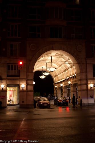 Fancy arch