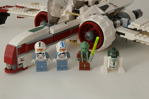 Lego ARC-170: Kit Fisto and crew - a photo on Flickriver