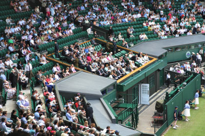royal box Wimbledon 9104 R