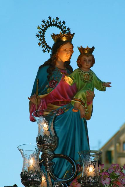 Procesión de María Auxiliadora 2010
