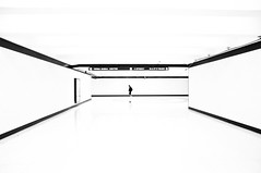 In the white room (Brandon Doran) Tags: sanfrancisco bw white station architecture underground subway bright over bart expose muni highkey unionsquare tone sfmuni photochallenge d90 fav10 18105mm dsc3326 junechallenge 18105mmf3556 nikond90bw junechallenge2010 dwcffhighkey