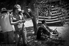 Santa Barbara Summer Solstice (Keith Skelton - California Photography Workshops) Tags: costumes blackandwhite santabarbara hippies kids outdoor families streetphoto festivities summersolstice californialandscape streetshooting
