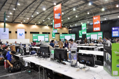 Campus Party Colombia - Llegada