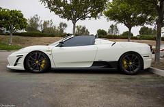 Ferrari F430 Scuderia 16M Spyder (chrisboulas) Tags: california county ca orange white spider ferrari spyder tokina socal scuderia 1224 f430 16m