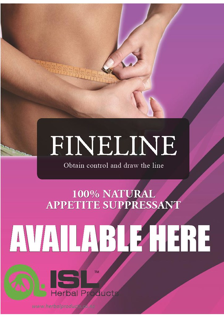 FINELINE 100% NATURAL APPETITE SUPPRESSANT