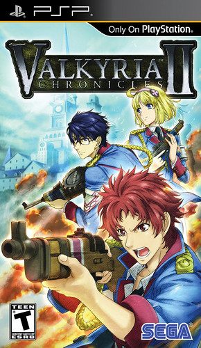 Valkyria Chronicles II - Pack Front