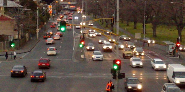 Punt Road traffic