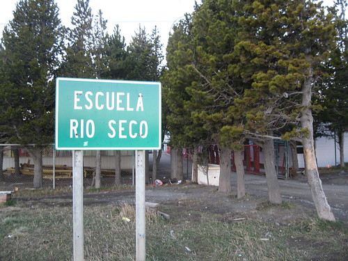 Escuela Rio Seco, the smallest public school in Punta Arenas.