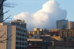 clouds 1 (pamelakliment) Tags: seattle clouds kliment pamelakliment cloudsandwindows