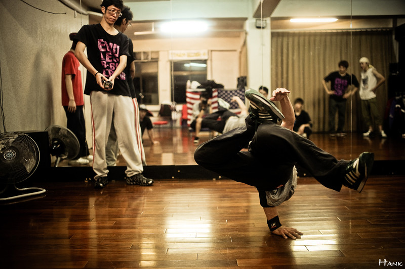 ENDLESS BBOY CREW 練舞