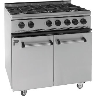 Parry 6 Burner Range Cooker