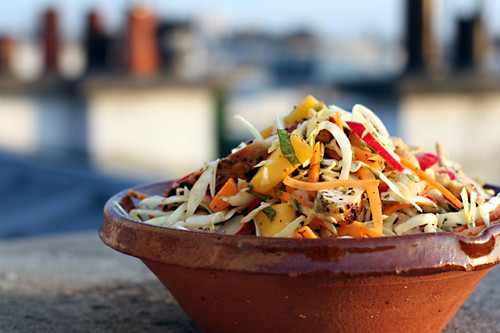 Chicken-Mango Slaw