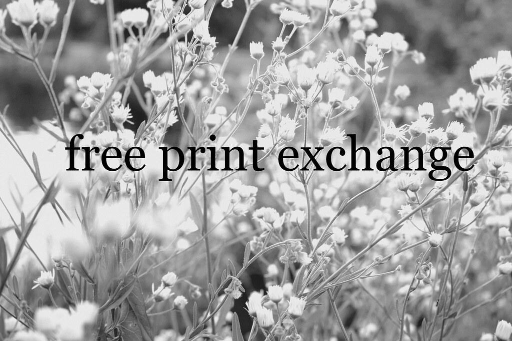 free print exchange!