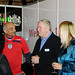 Brian Gallagher and Krishna Patel at Trade Residence during World Cup 2010