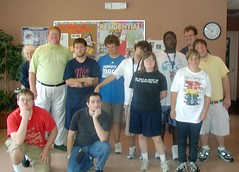 Group photo of Field Day at the CIP Brevard Center