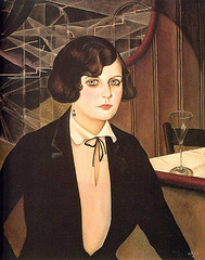 Christian Schad, Lotte, 1927 (kraftgenie) Tags: bar germany weimar schad