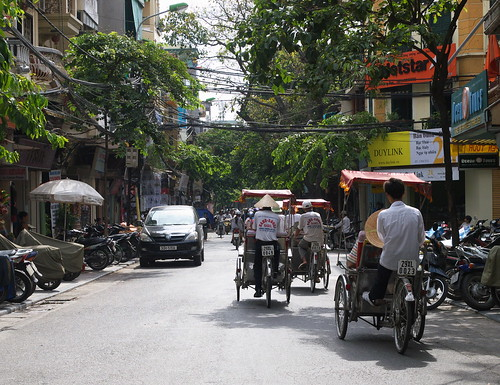 越南的人力車-觀光客專用囉