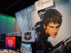 E3 2010 Final Fantasy XIV Online artwork