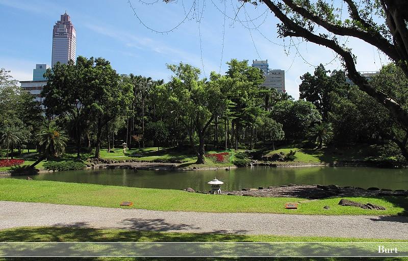 臺北賓館北向庭園