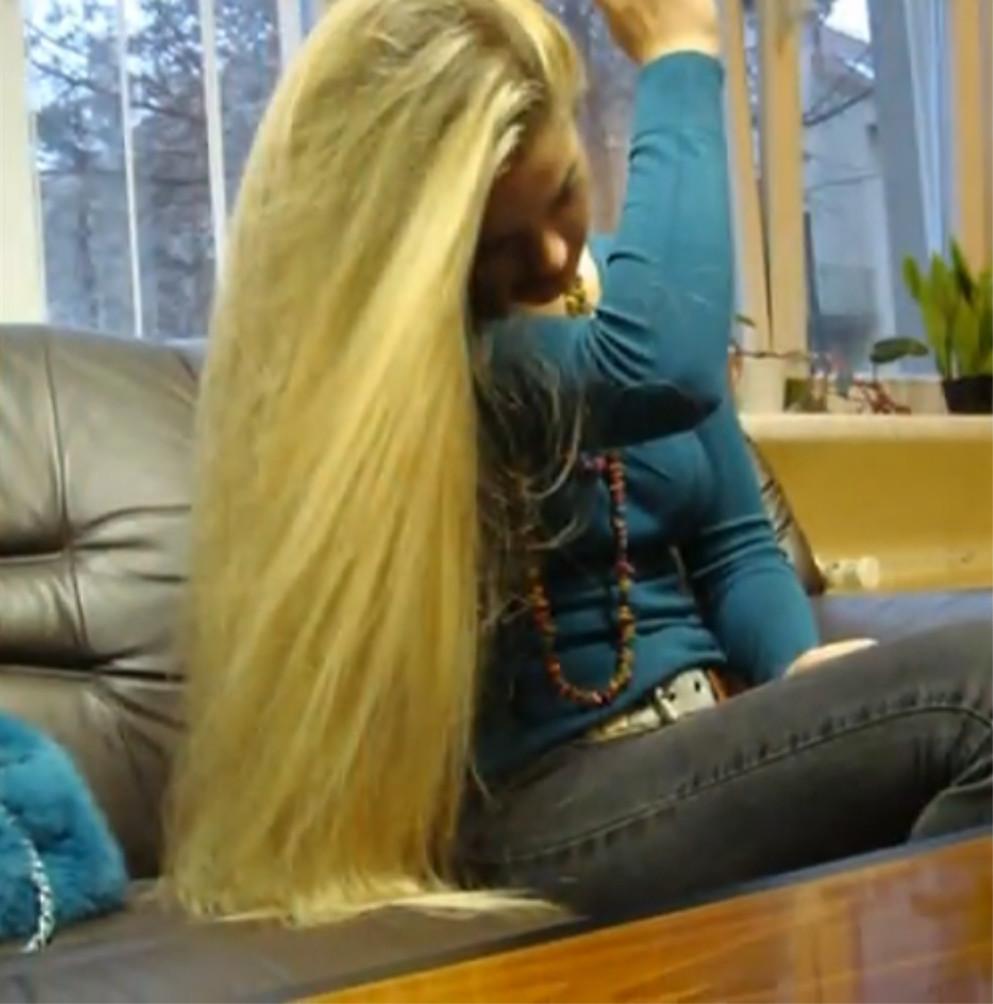 Long hair fetish porn