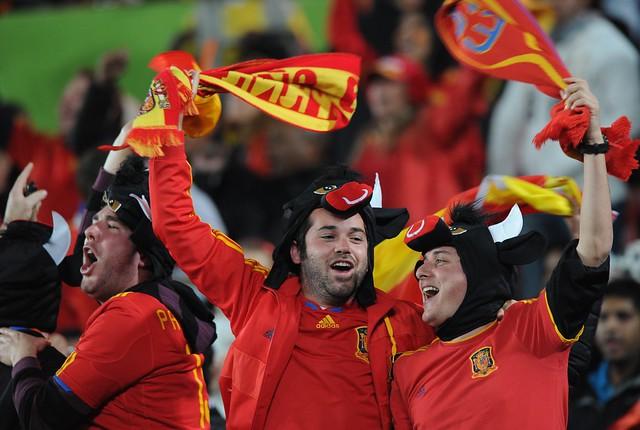 Thumb España clasifica a las Semifinales del Mundial, venció a Paraguay 1 a 0